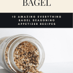 Recipes that use everything bagel seasoning